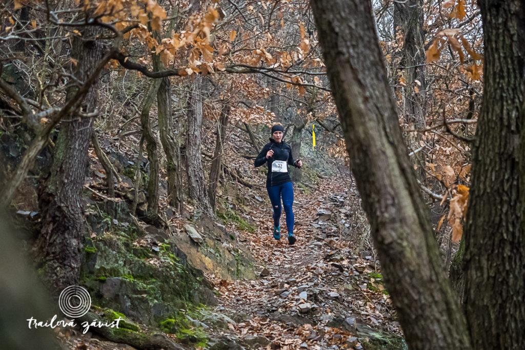 Adéla Stránská vítězka Trailová Závist 2016