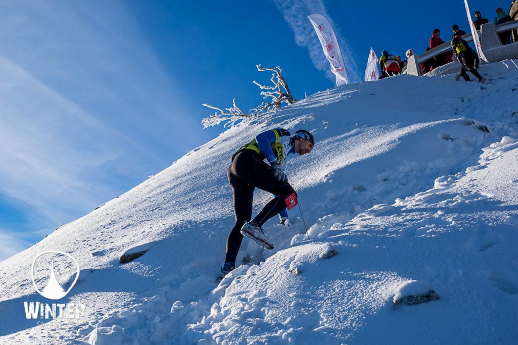 Winter Skyrace na Ještědu 2016 s velkým převýšením